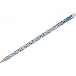 Pieštukas su daugybos lentele