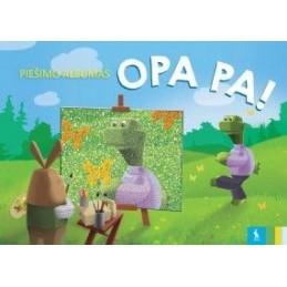 Piešimo sąsiuvinis OPA PA!,...