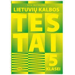 Lietuvių kalbos testai 5 kl.
