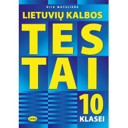 Lietuvių kalbos testai 10 kl.