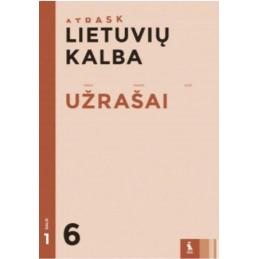 Lietuvių kalba. Užrašai 6...