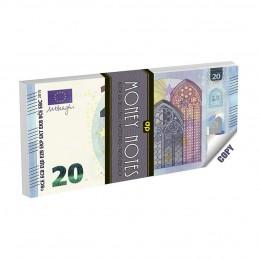 Bloknotas užrašams 20 EURO...